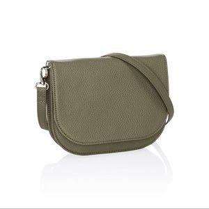Convertible Belt Bag - Ooh-la-la Olive Pebble